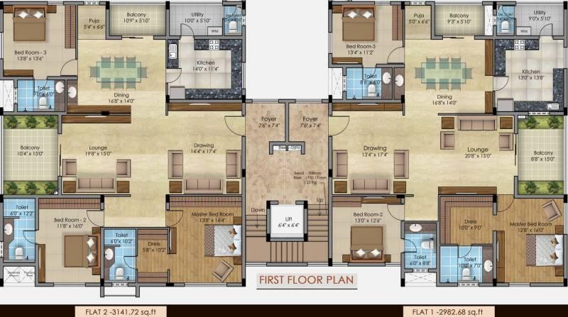 ananya Images for Cluster Plan of Amara Ananya