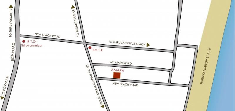 ananya Images for Location Plan of Amara Ananya