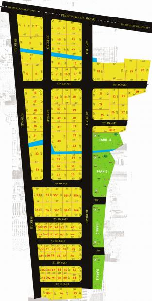Images for Layout Plan of Indira Green City