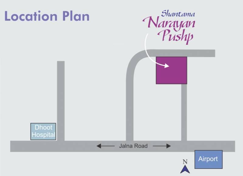 Images for Location Plan of Shantama Constructions Narayan Pushp Villa