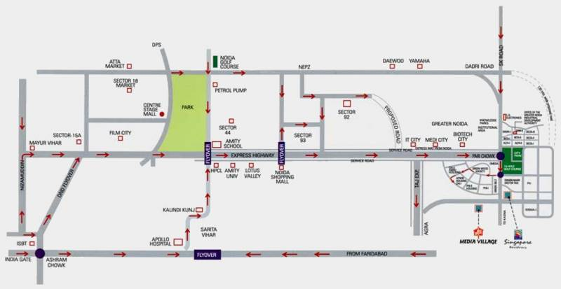 Images for Location Plan of Samiah Media Village