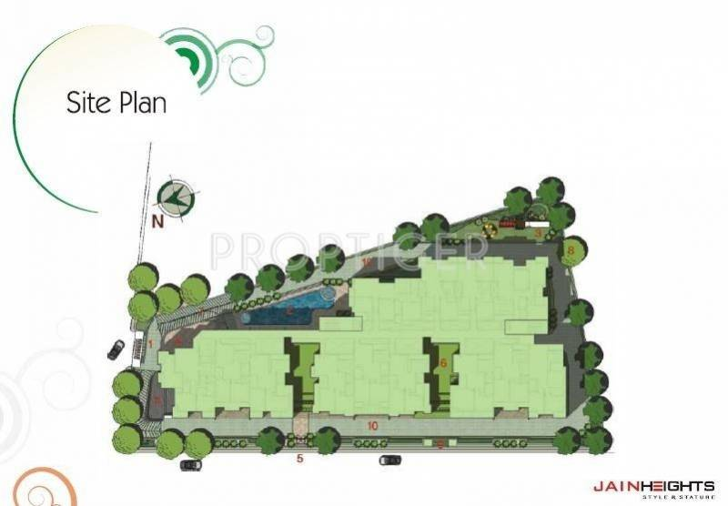 Images for Site Plan of Jain Corona