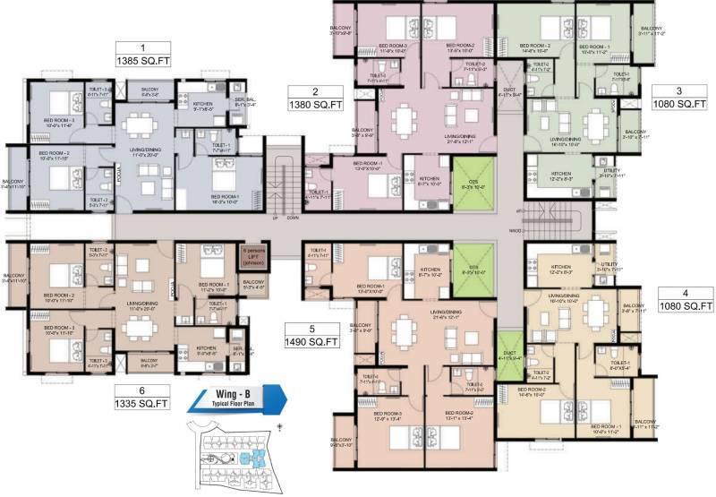 Images for Cluster Plan of Arun Estancia Mini