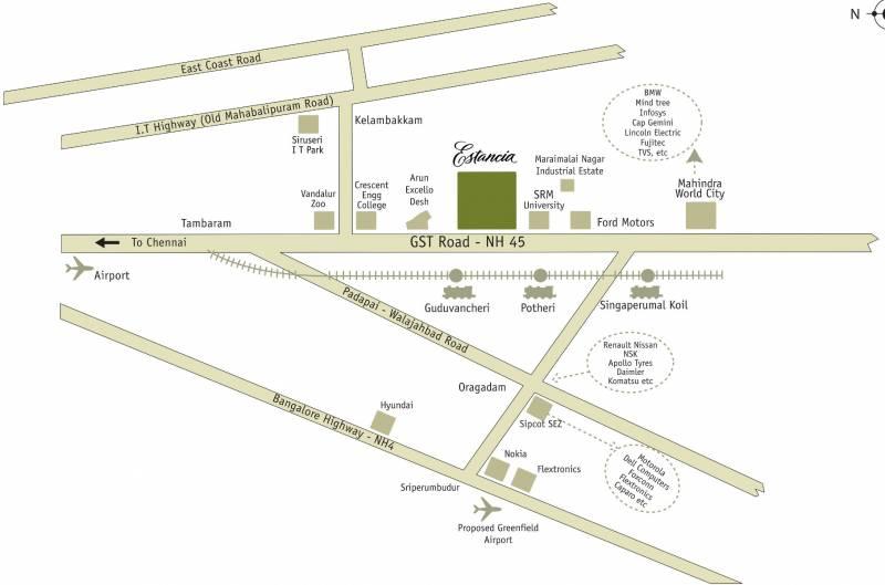 Images for Location Plan of Arun Estancia Mini