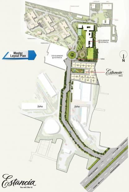 Images for Master Plan of Arun Estancia Mini