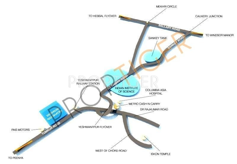 Images for Location Plan of Vaishnavi Nakshatra