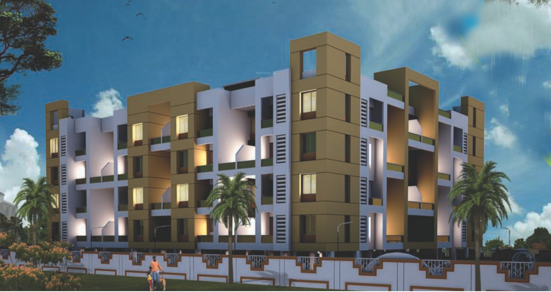 Pratham Yash Residency Phase 3 In Lohegaon Pune Price