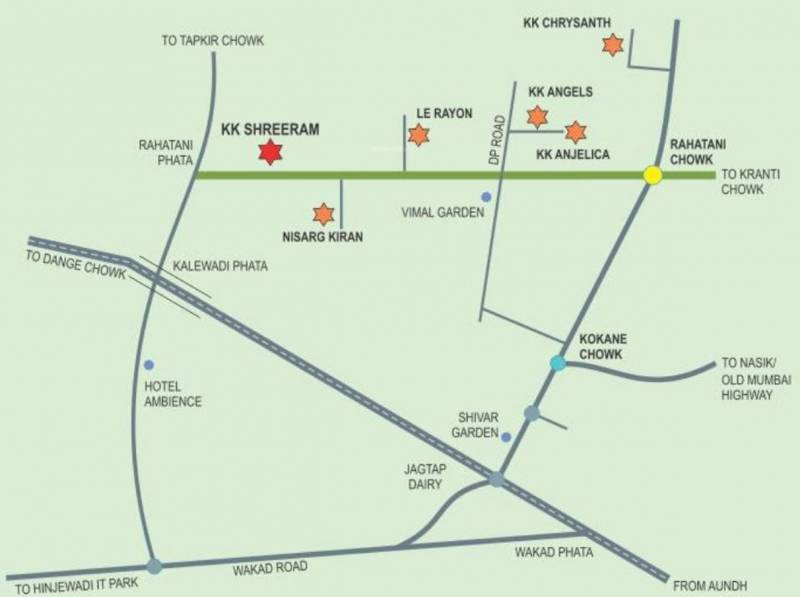 Images for Location Plan of Shah And Associates C Building KK Shreeram