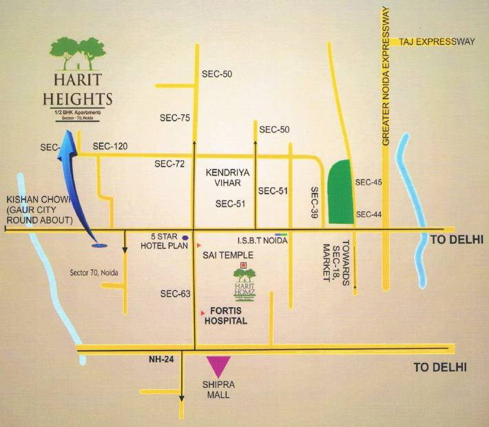 Images for Location Plan of  Harit Heights