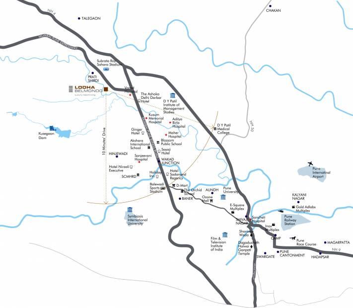 Images for Location Plan of Lodha Belmondo St Andrews E