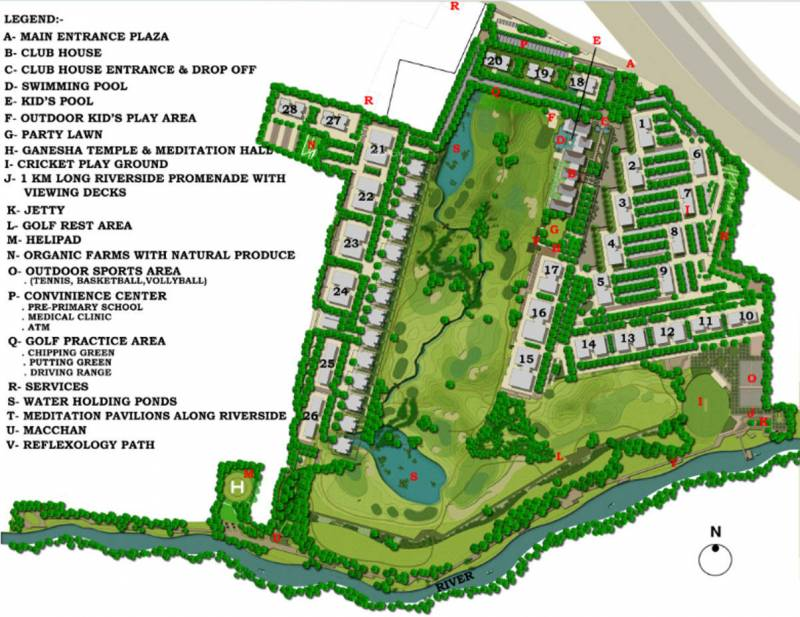 Images for Master Plan of Lodha Belmondo St Andrews E
