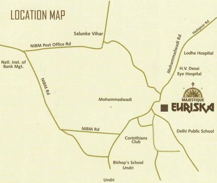 Images for Location Plan of Majestique Euriska