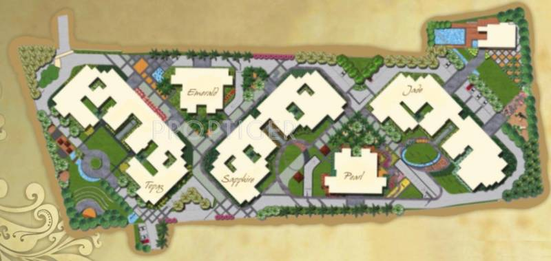 sjr-luxuria Images for Layout Plan of Bren SJR Luxuria