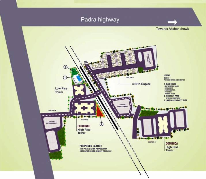 Images for Layout Plan of Pratham Riviera Villas