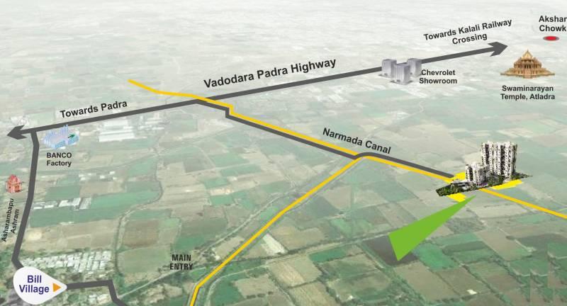 Images for Location Plan of Pratham Riviera Villas