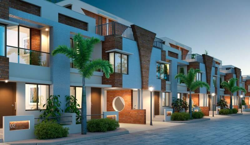Images for Elevation of Pratham Riviera Villas