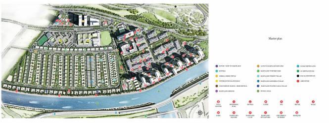 Images for Master Plan of Sobha Creek Vistas