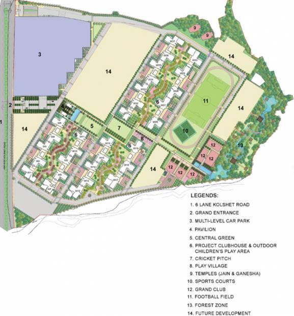 Images for Master Plan of Lodha Amara Tower 29 31