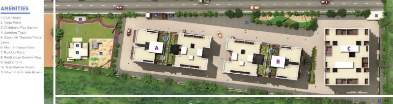 Images for Layout Plan of Goyal My Home Talegaon