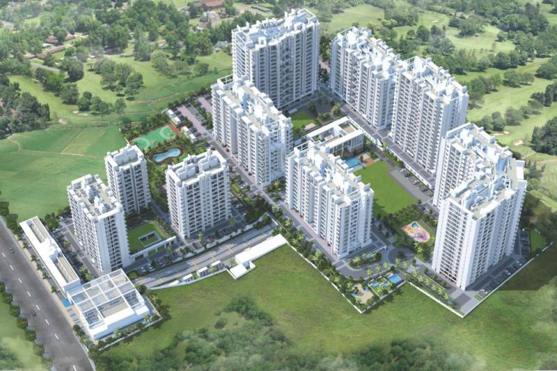 Images for Elevation of Abhinav Pebbles II F Building