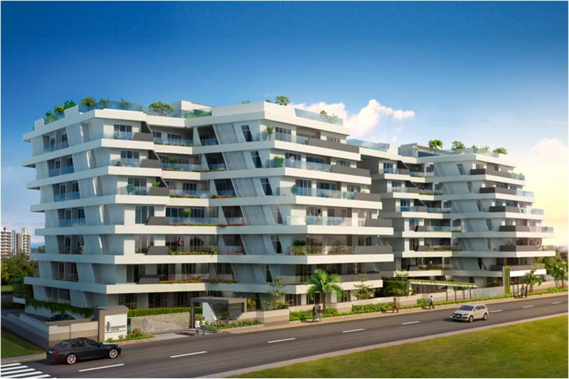 Images for Elevation of Naiknavare Eminence Project 1