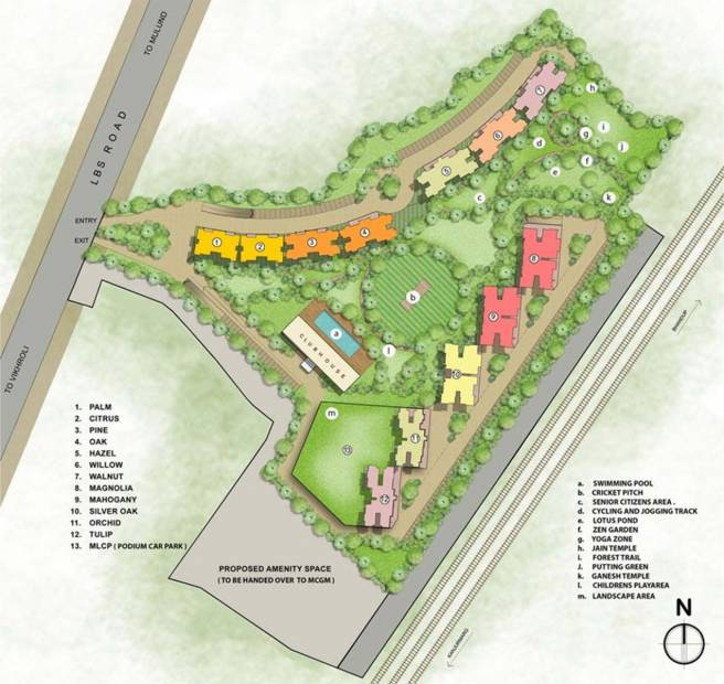 Images for Layout Plan of Runwal Forest Tower 9 To 11