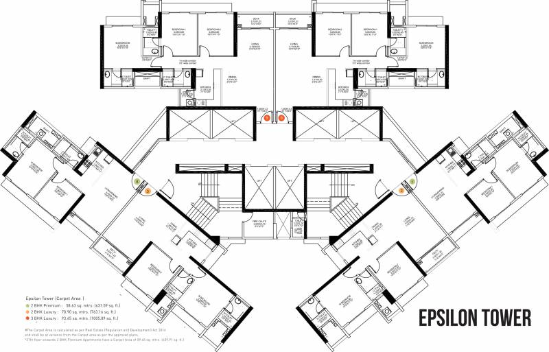 Images for Cluster Plan of SD Building No 3 Wing A Epsilon