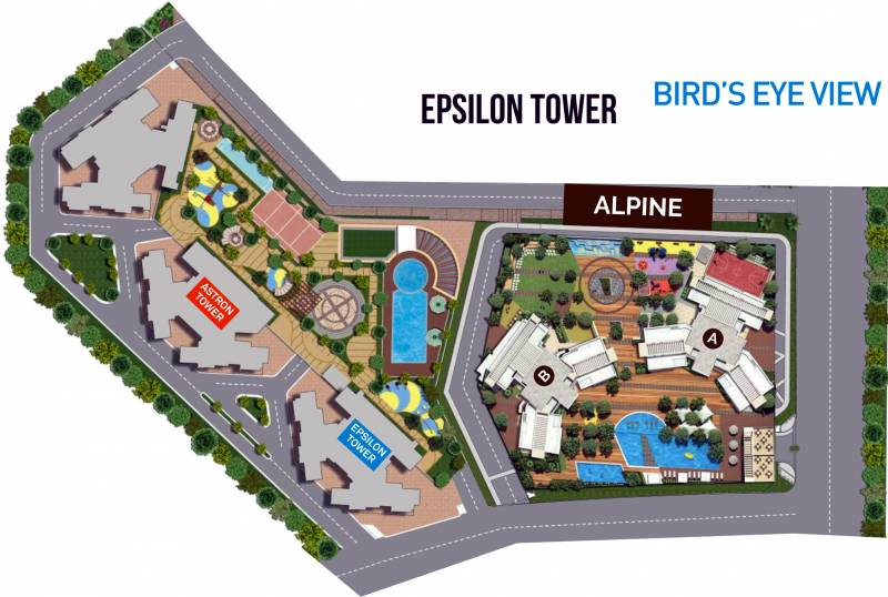Images for Layout Plan of SD Building No 3 Wing A Epsilon