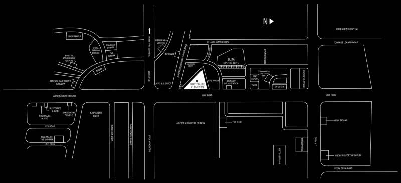 Images for Location Plan of Rustomjee Elements Wing SC