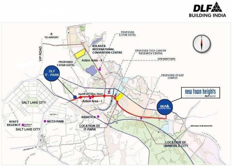 Images for Location Plan of DLF New Town Heights