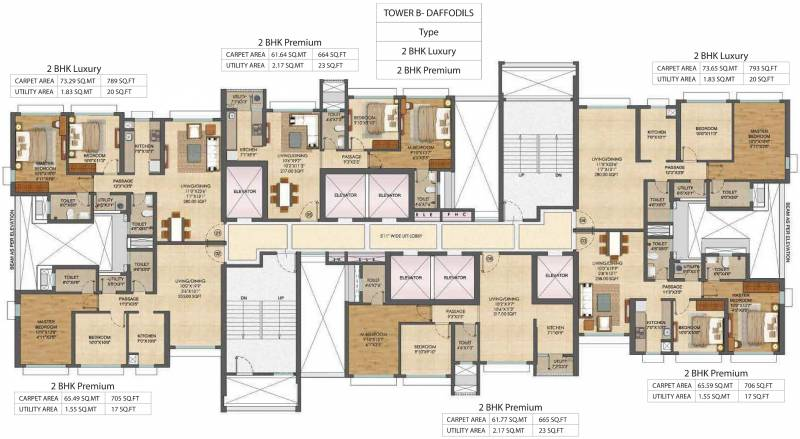 Images for Cluster Plan of Runwal Bliss Wing B