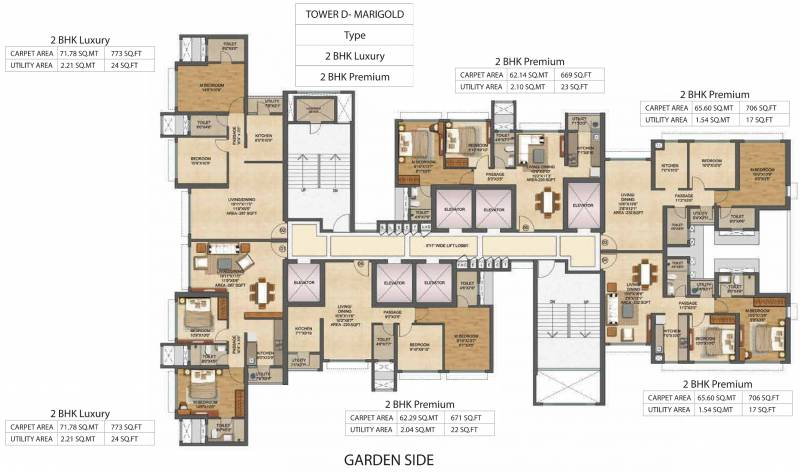 Images for Cluster Plan of Runwal Bliss Wing D