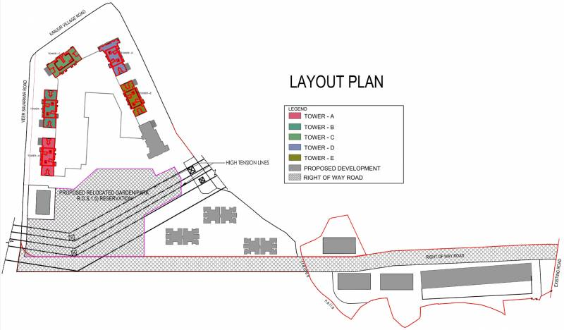 Images for Layout Plan of Runwal Bliss Wing D