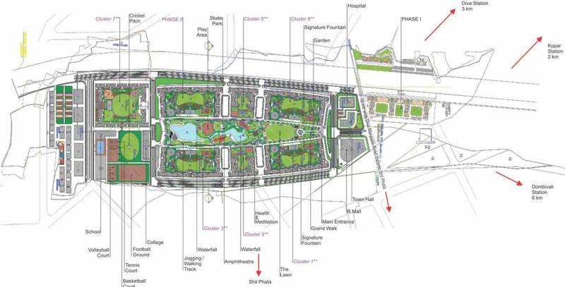my-city-phase-ii-cluster-4 Images for Layout Plan of Runwal My City Phase II Cluster 4