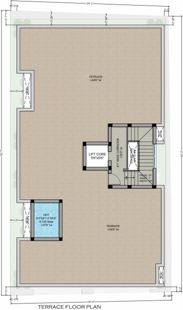 Images for Cluster Plan of Dharshini LTS Enclave