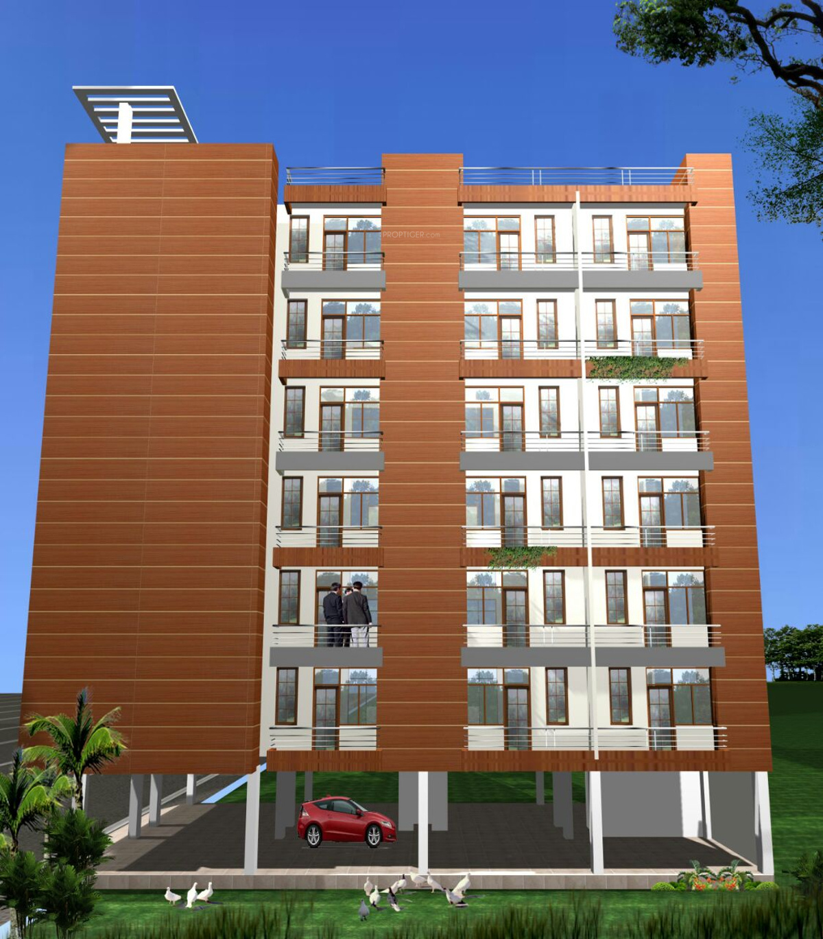 575 sq ft 1 bhk 1t apartment for sale in alankar for Apartment design development pvt ltd