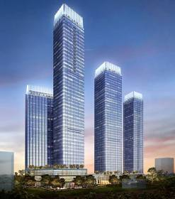 Images for Elevation of Indiabulls Blu Tower A