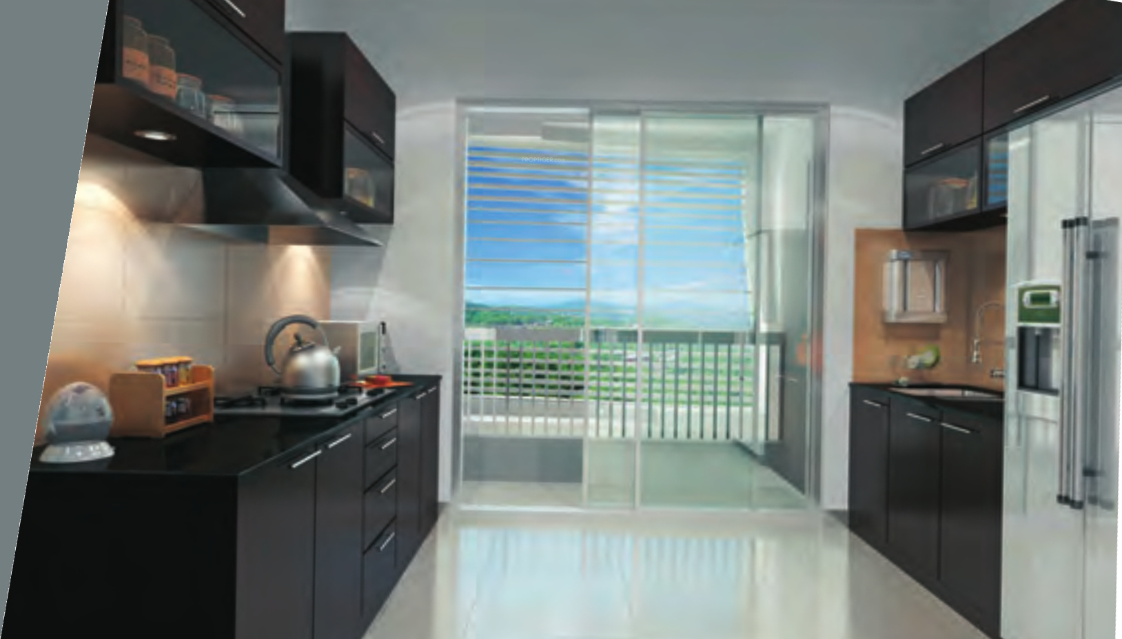 840 sq ft 2 BHK 2T Apartment for Sale in Soham Group Mumbai Tropical ...