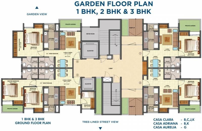 Images for Cluster Plan of Lodha Palava Codename Riverside