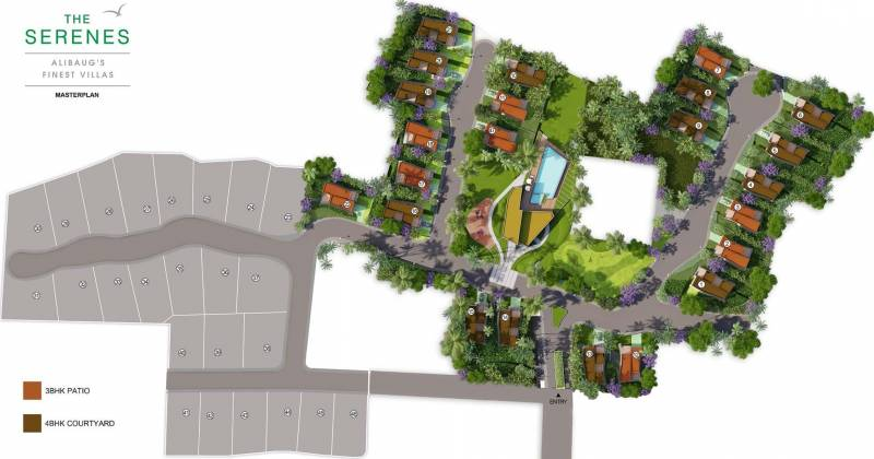 Images for Master Plan of Mahindra The Serenes 8 Villas