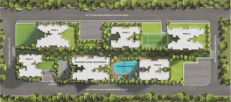 Images for Layout Plan of Rustomjee Seasons Wing A