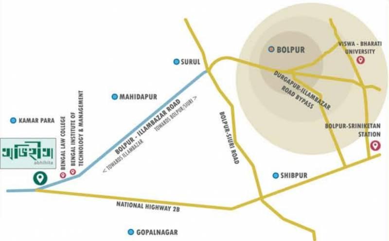 Images for Location Plan of Jhinuk Avihita