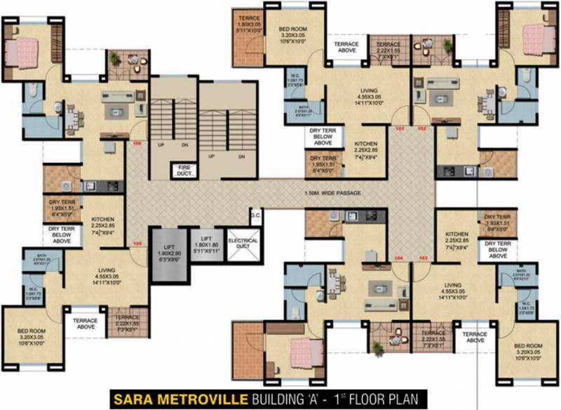 Images for Cluster Plan of Sara Metroville A Phase II