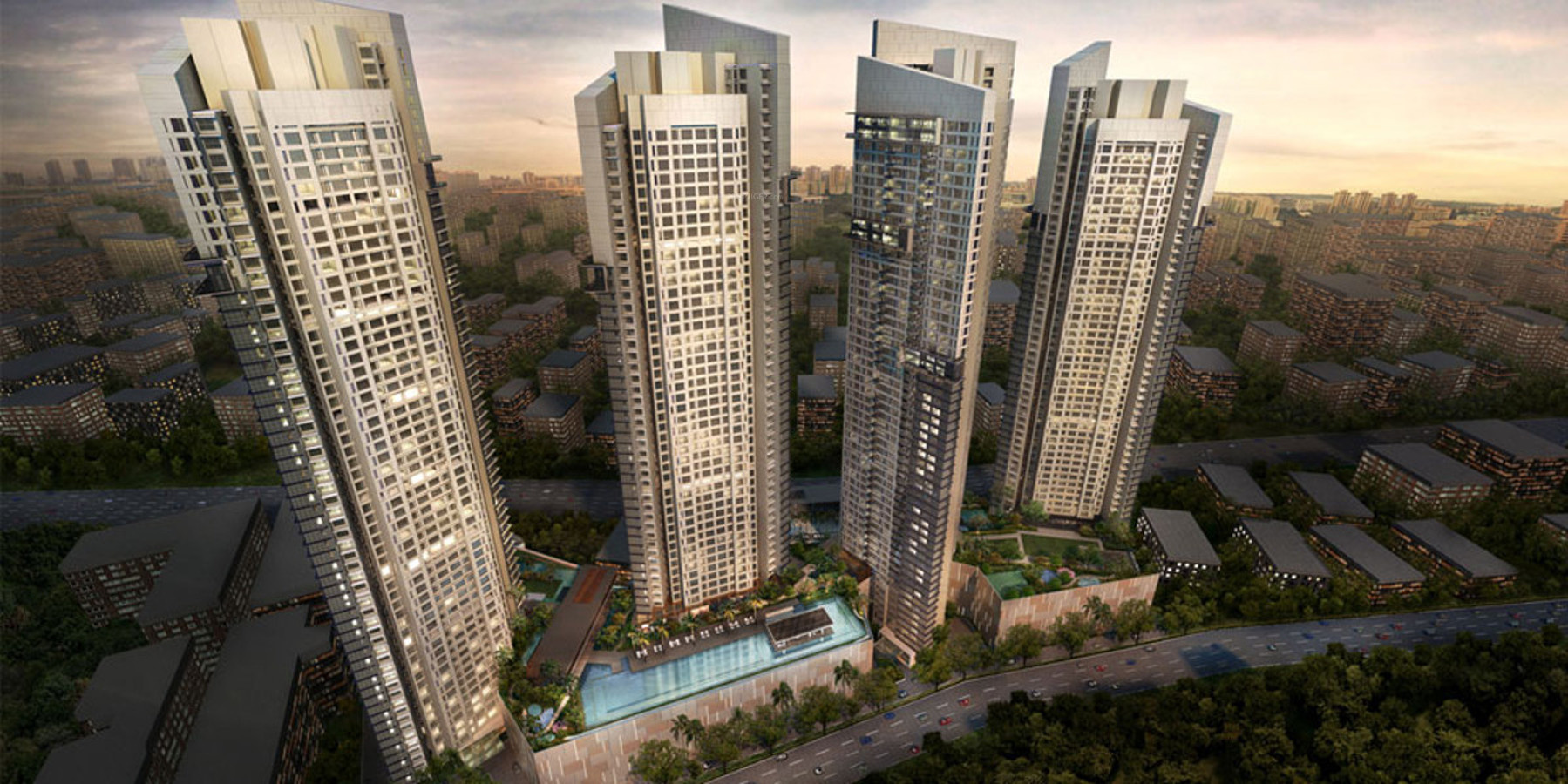 Sheth Auris Serenity Tower 2 In Malad West Mumbai Price