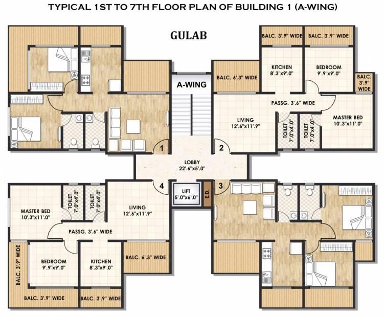 Images for Cluster Plan of Karrm Gardens 1