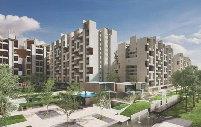 Images for Elevation of Rohan Abhilasha Building E