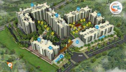 Images for Elevation of Maple Aapla Ghar Ranjangaon Phase II