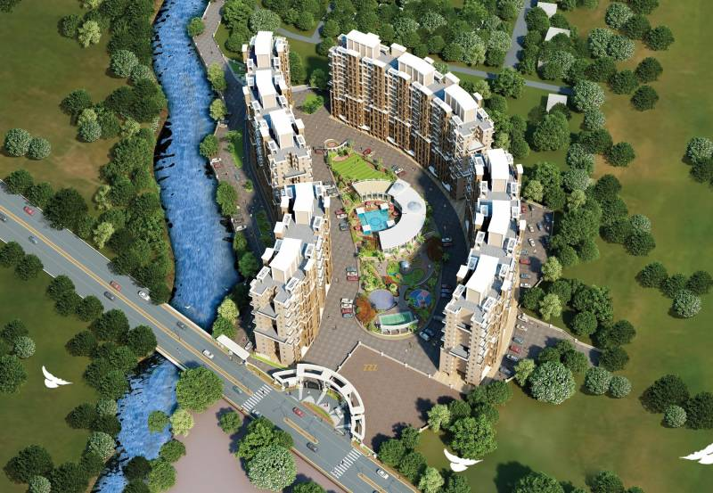 Images for Elevation of Viva City A1