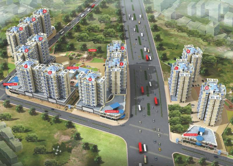 Images for Elevation of Arihant City Phase II Buillding F G H I J