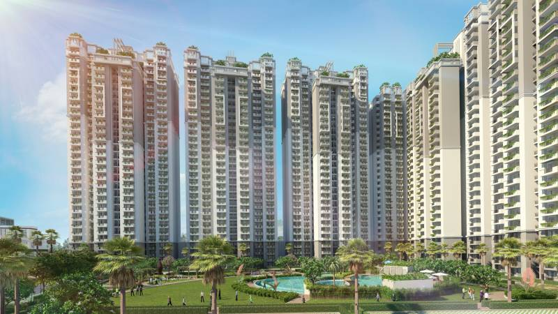 Images for Elevation of Shri Shri Radha Sky Park